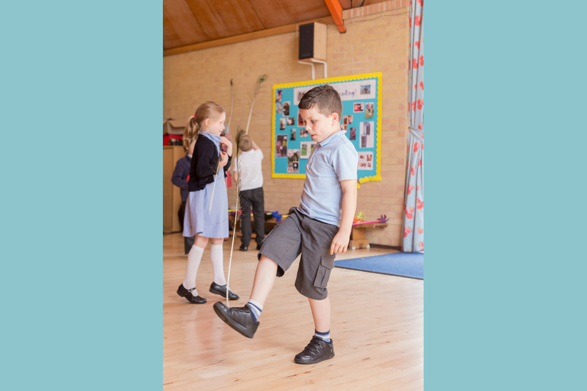 Infant and primary school circus skills workshop