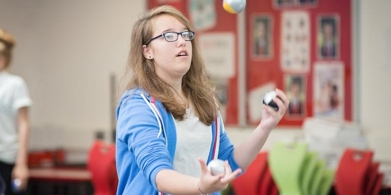 Ever wanted to learn to juggle?