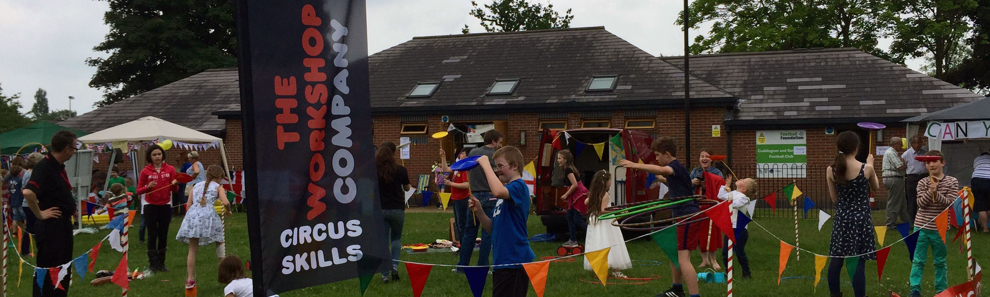Circus skills at events