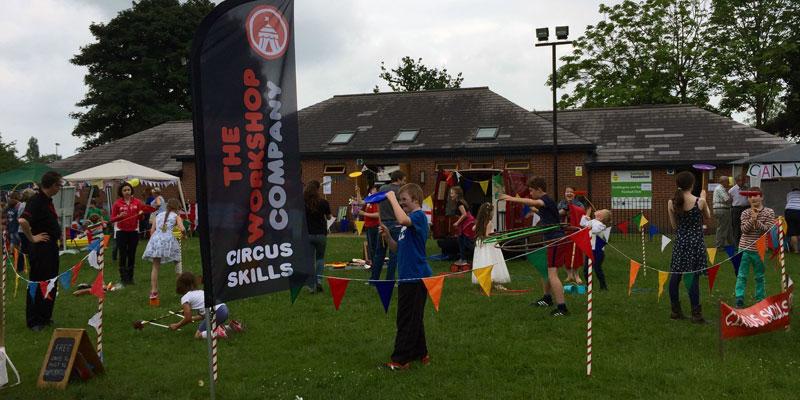 Circus skills at events