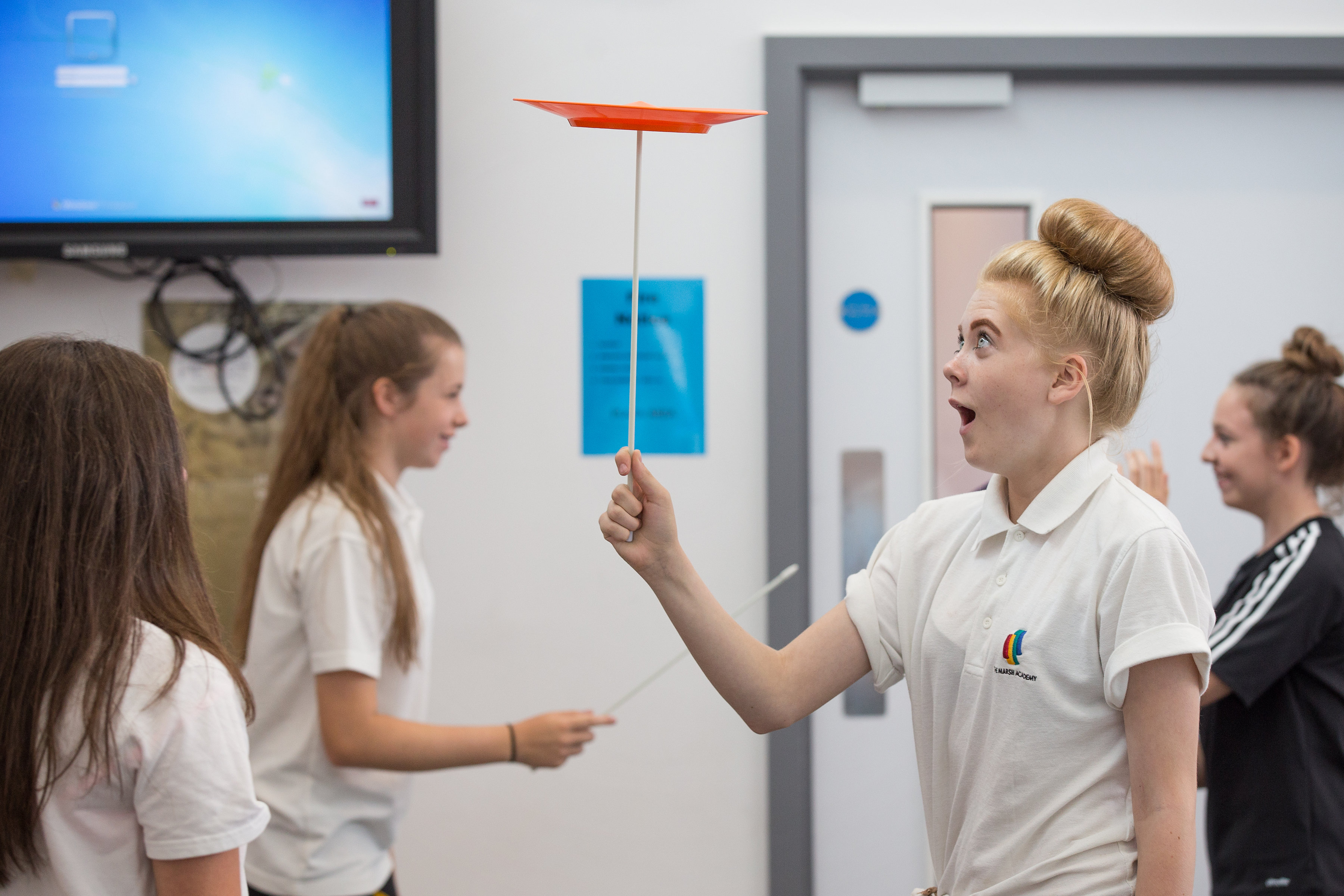 Engaging Teenagers in Physical Activity using Circus Skills.