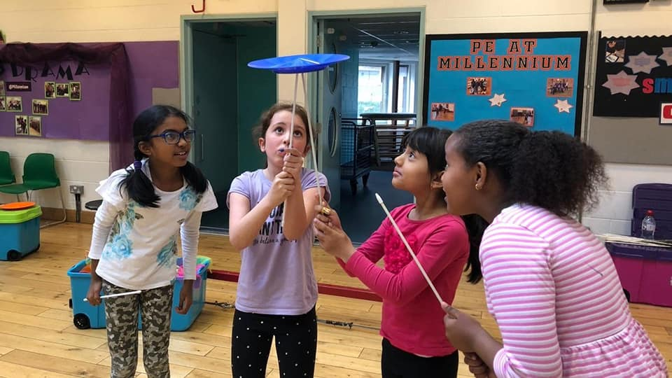How can a circus workshop fit in with World Book Day?